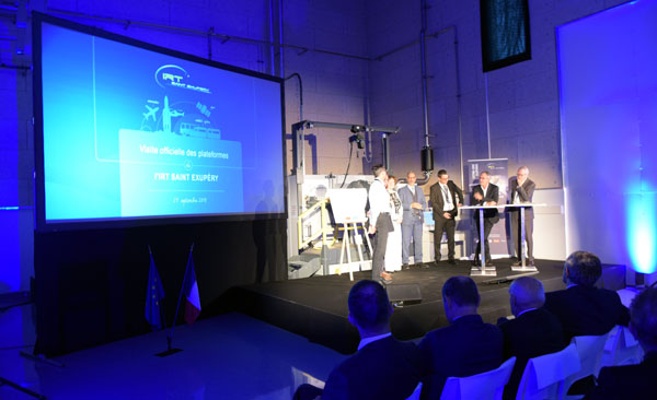 Official Visit of IRT Saint Exupéry Technology Platforms